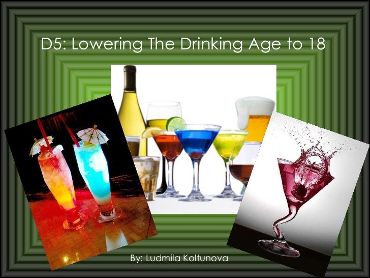 Research paper on drinking age