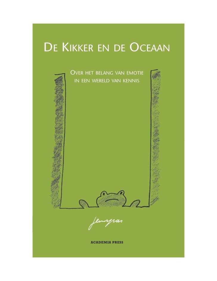 """Extract """"De Kikker en de Oceaan"""""""