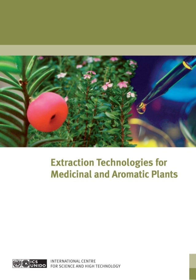 Extraction technologies for_medicinal_and_aromatic_plants