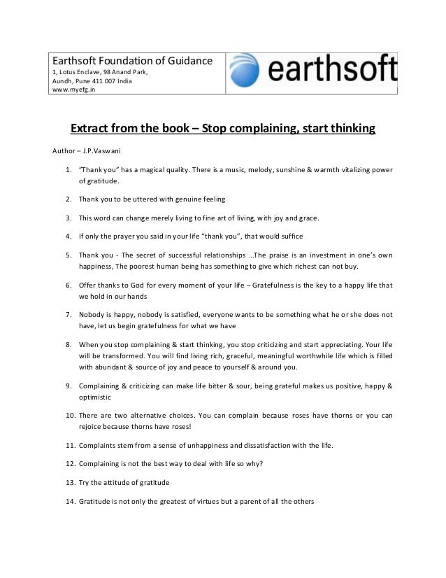 Earthsoft Foundation of Guidance1, Lotus Enclave, 98 Anand Park,Aundh, Pune 411 007 Indiawww.myefg.inExtract from the book...