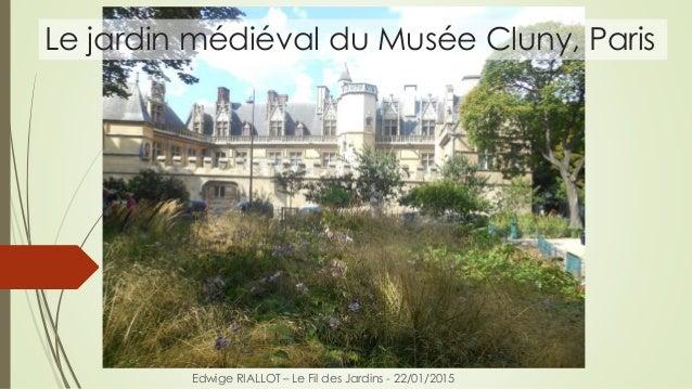 Le jardin médiéval du Musée Cluny, Paris Edwige RIALLOT – Le Fil des Jardins - 22/01/2015