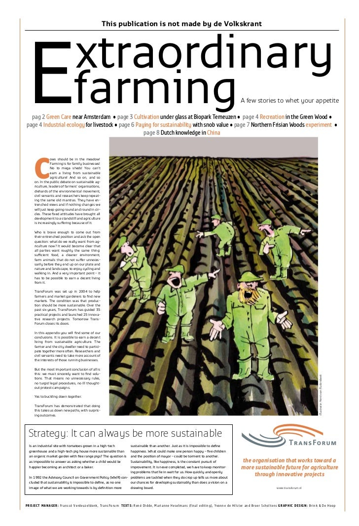 Extraordinary farming agro_park_terneuzen_newspaper