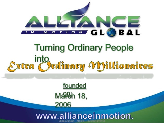 Extra ordinary millionaires