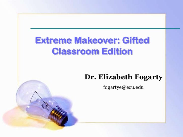 Extreme Classroom Makeover Gifted Edition