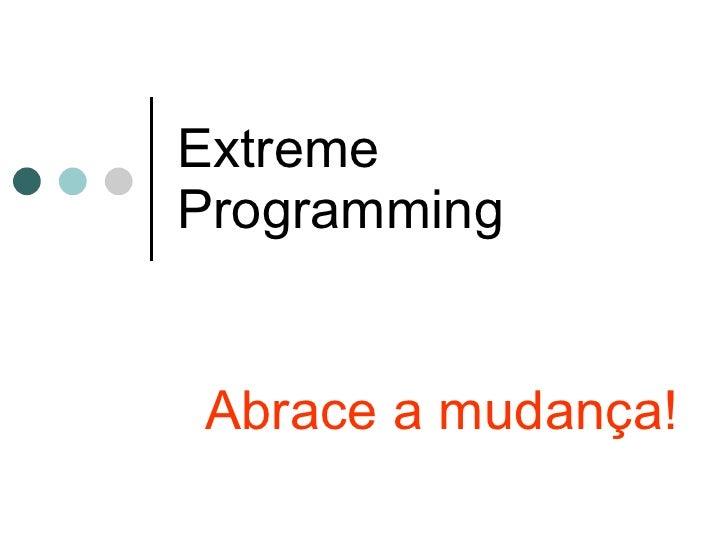 Extreme programming explicada