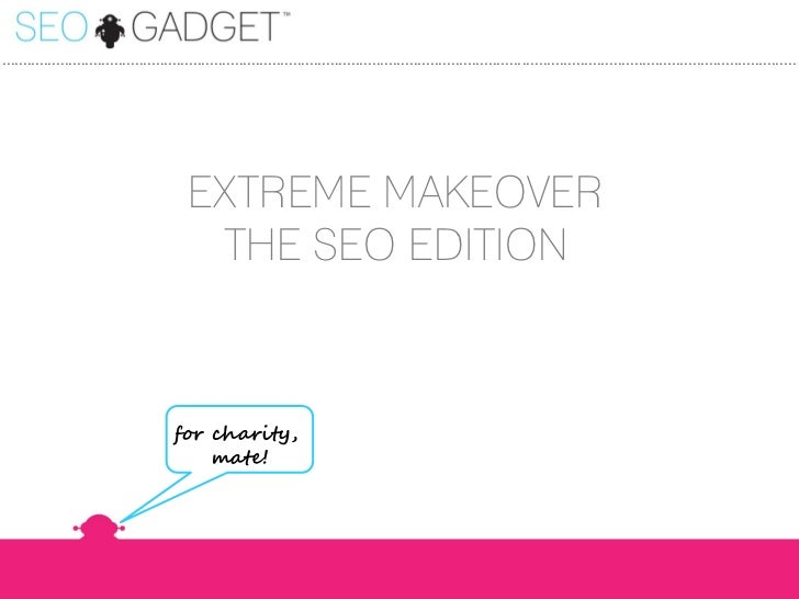 Extreme SEO Makeover