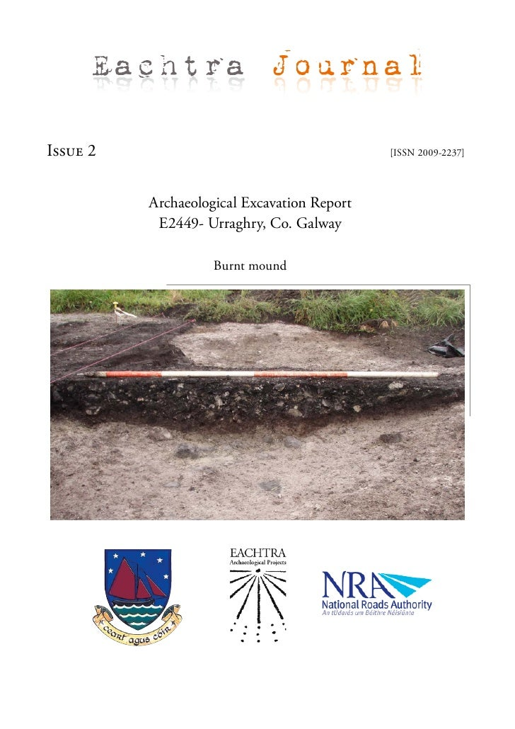 Archaeological Excavation Report - E2449 Urraghry, Co. Galway