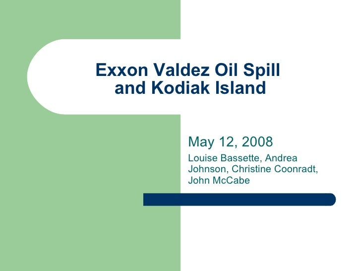 exxon valdez continuing case essay Free essays on exxon valdez summary get help with your writing 1 through 30.