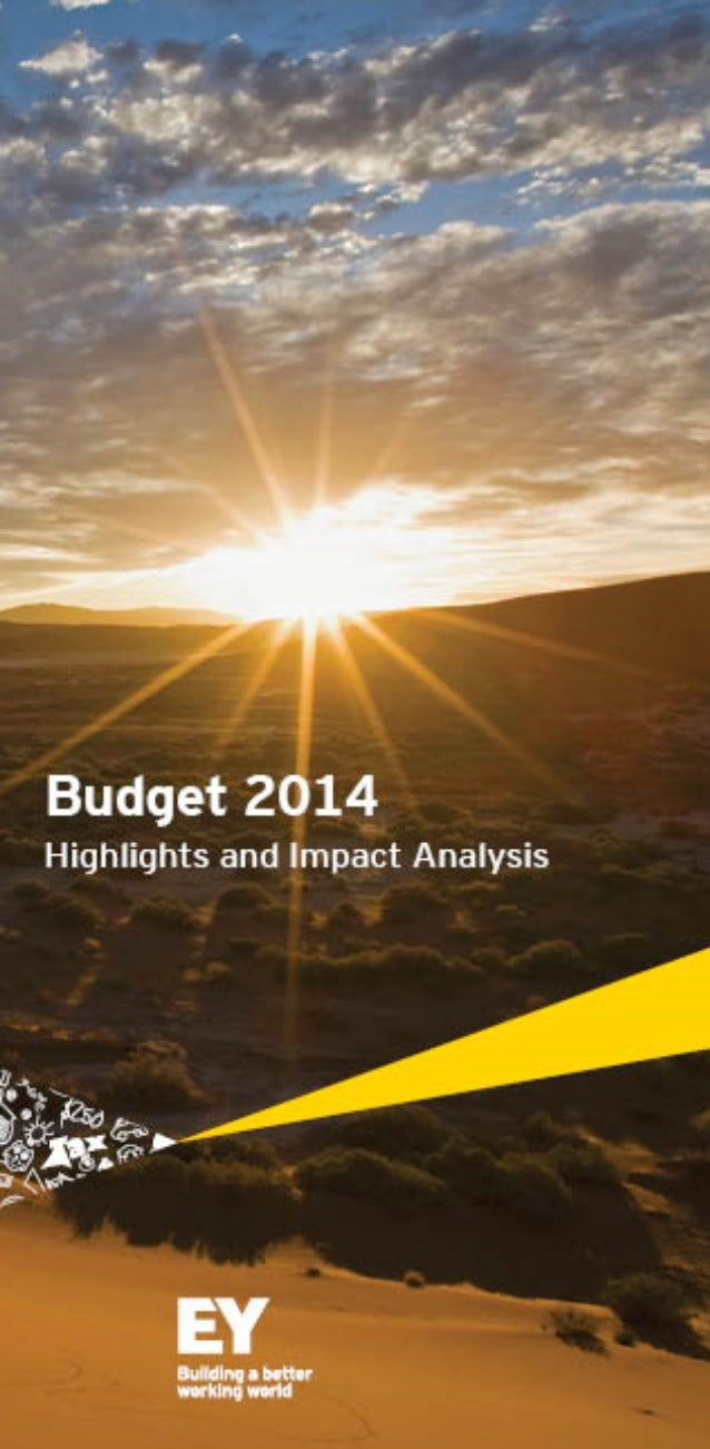 Visit our website www.ey.com/BudgetConnect2014