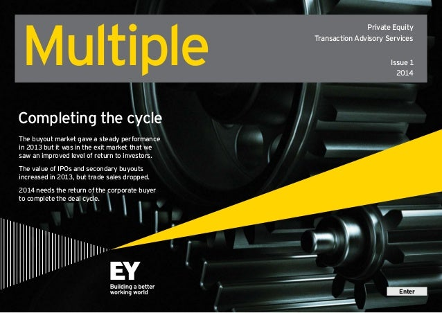 Multiple  Private Equity Transaction Advisory Services Issue 1 2014  Completing the cycle The buyout market gave a steady ...