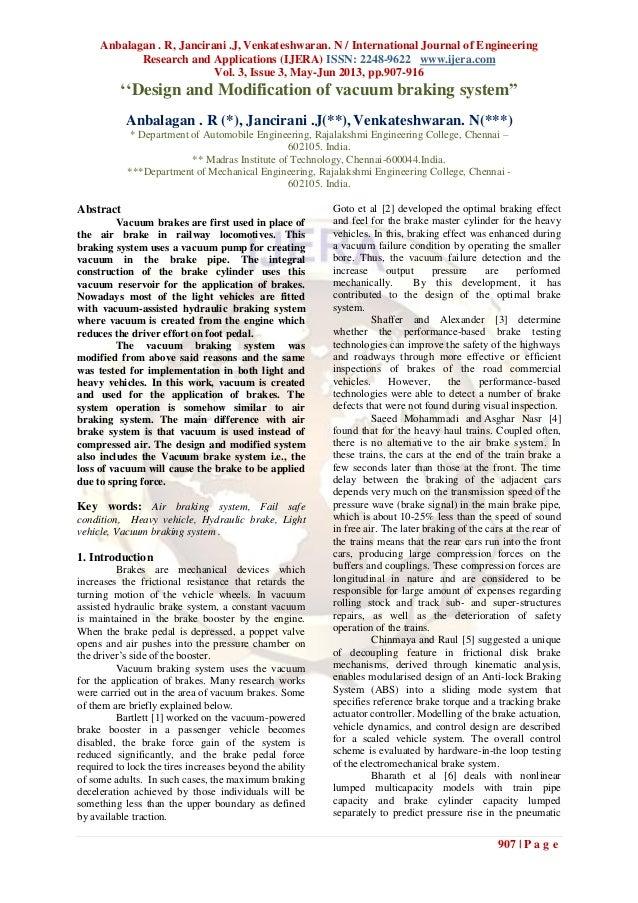 Anbalagan . R, Jancirani .J, Venkateshwaran. N / International Journal of EngineeringResearch and Applications (IJERA) ISS...