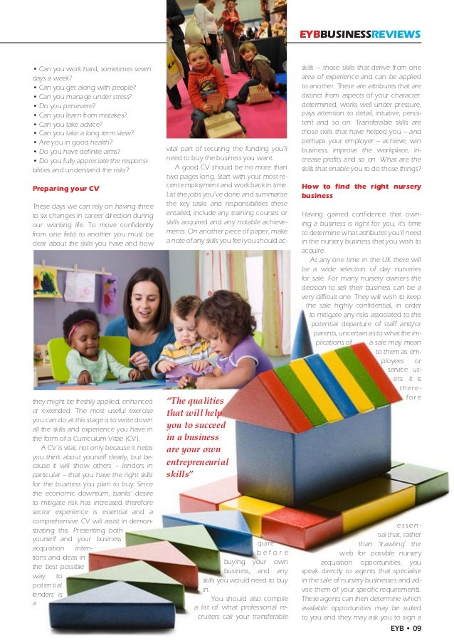 Doing childcare at college? you could then go on to specialise for young children with special needs?
