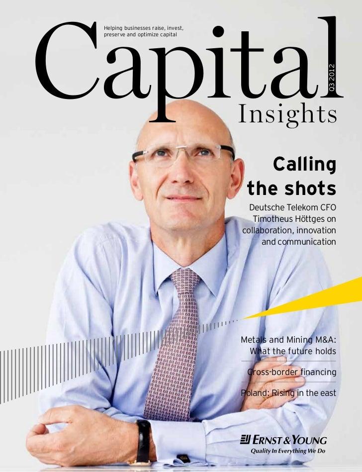 EY Capital Insights Q3 2012