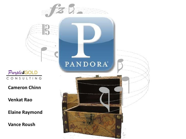 Ey Case Compeition   Pandora