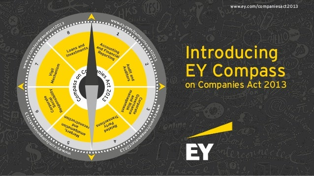 Introducing EY Compass on Companies Act 2013 www.ey.com/companiesact2013