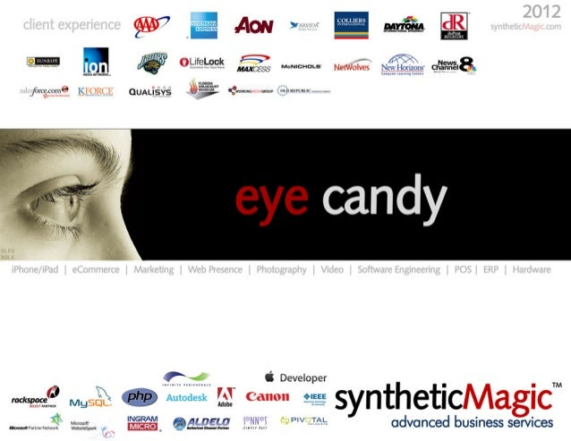 eye candy | syntheticMagic Advanced Business Services