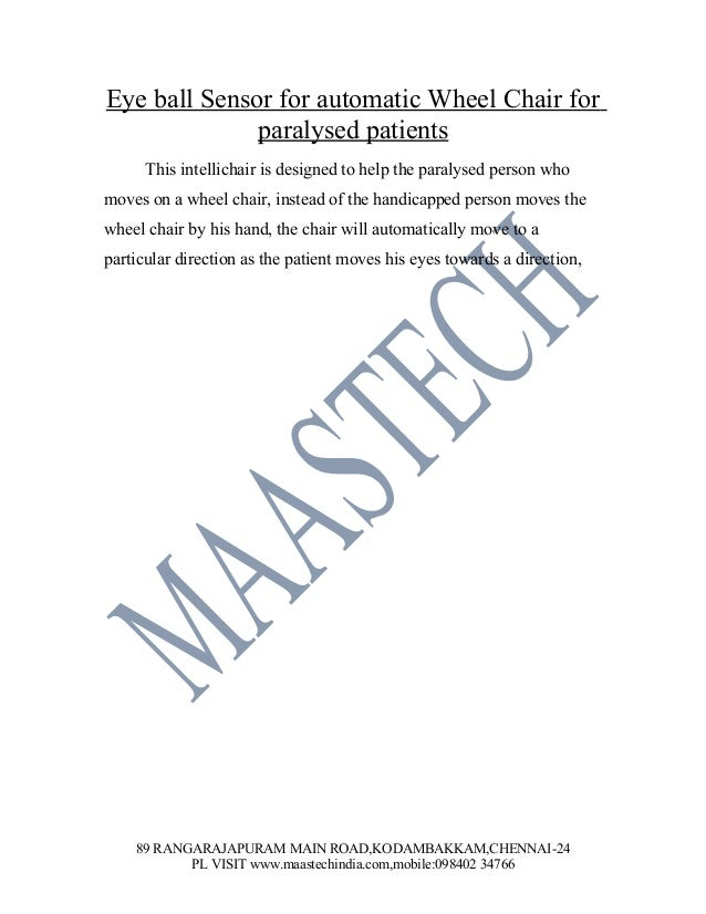 ELECTRONICS PROJECT CENTER IN CHENNAI-MAASTECH BEST ELECTRONIC PROJECT CENTER