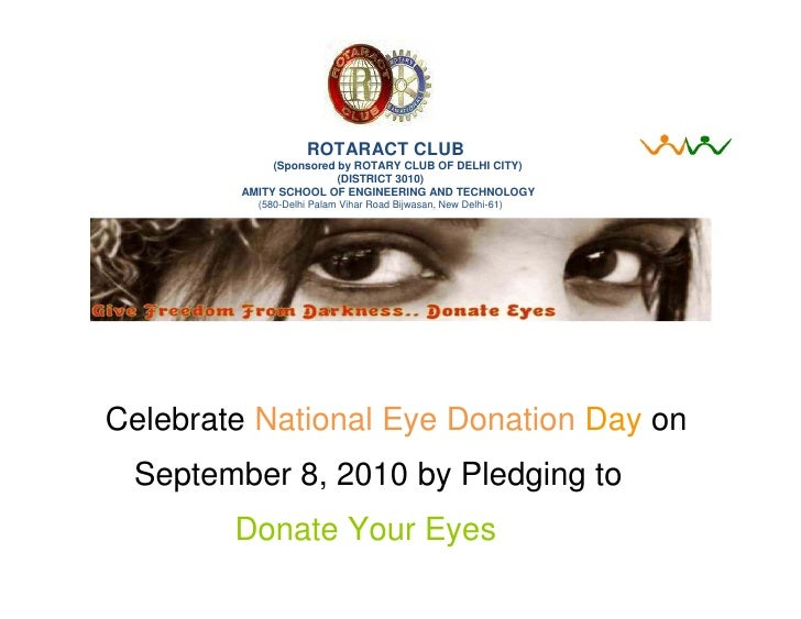 Eye donation campaign rc aset