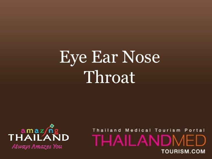 Thailand Medical Tourism_Eye ear nose throat
