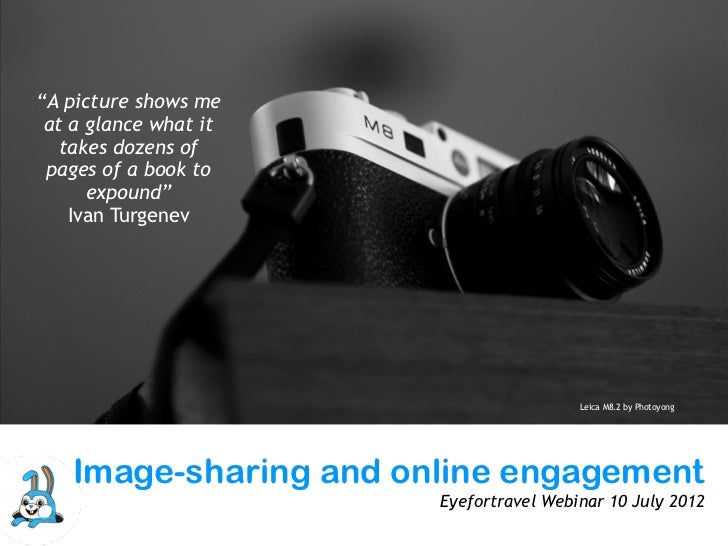 Using images to inspire and engage online