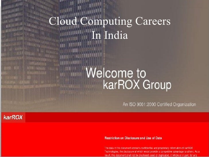 CLOUD COMPUTING CAREERS EYEGLOBAL TECHNOLOGIES