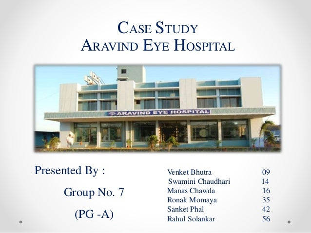 aravind eye hospital 1 The world's largest eye care center serves some of the world's poorest patients.