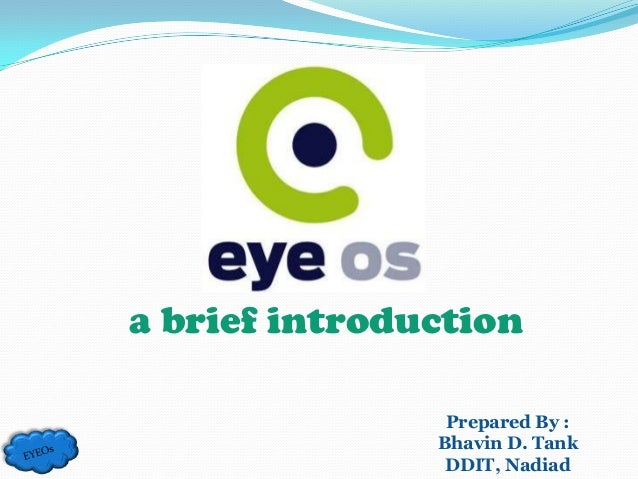 a brief introduction                Prepared By :               Bhavin D. Tank                DDIT, Nadiad