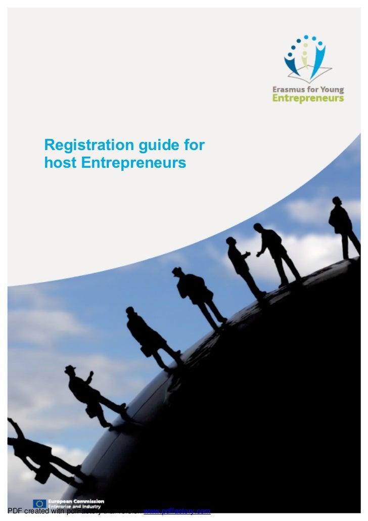 EYE Registration Guide