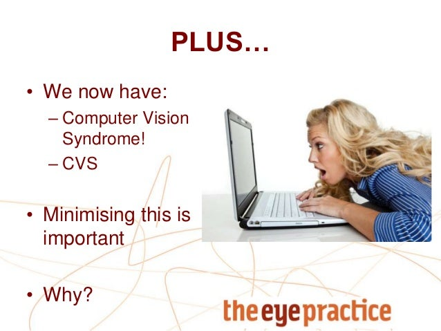 characteristics of computer vision syndrome