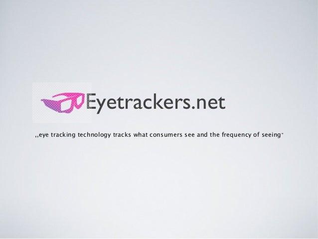 Eyetrackers
