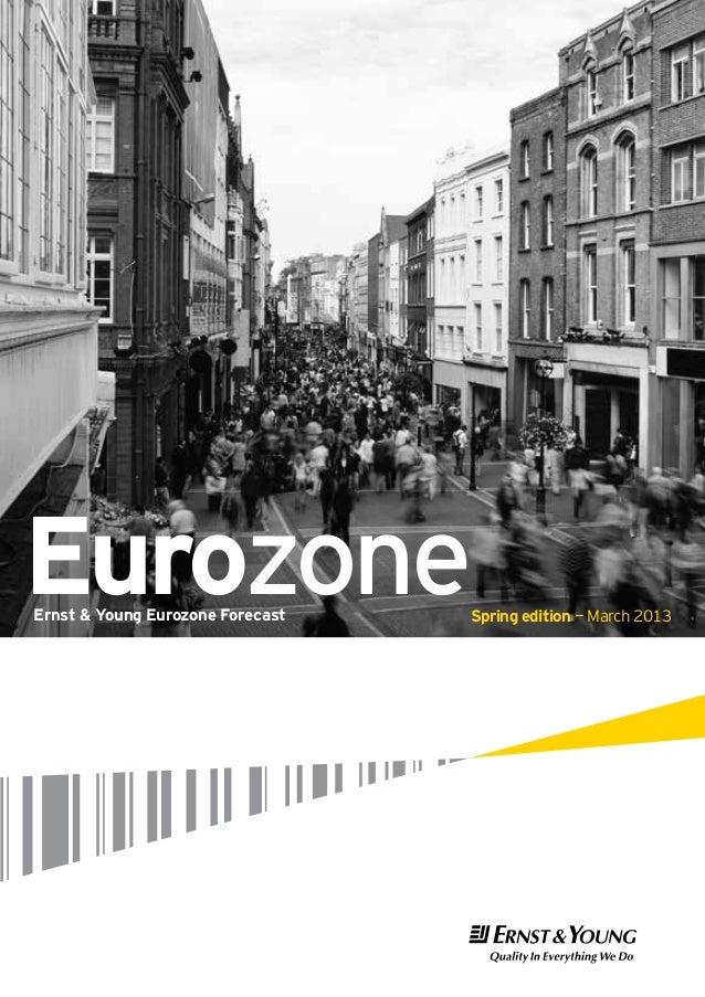 EY Eurozone forecast spring 2013