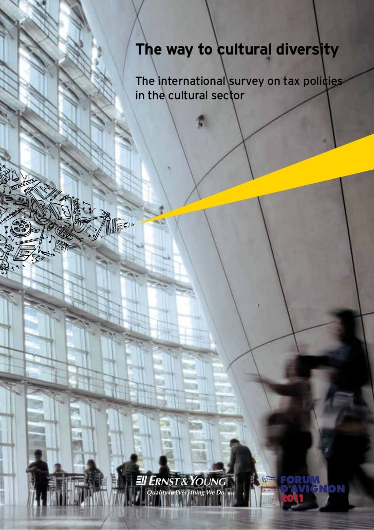 The way to cultural diversityThe international survey on tax policiesin the cultural sector