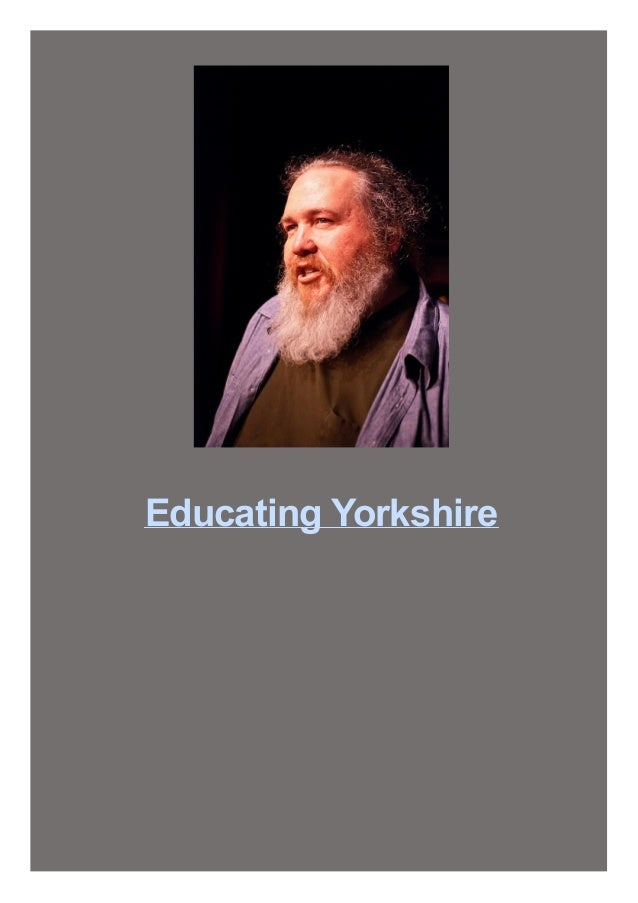 Educating Yorkshire