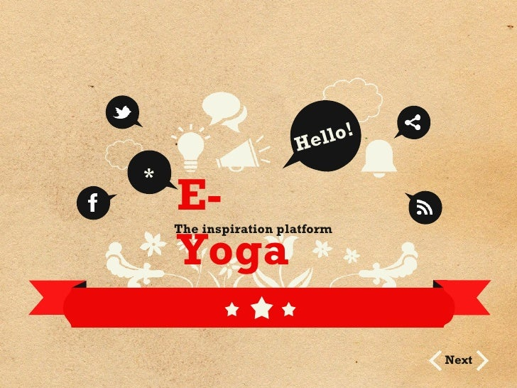 E-yoga for professionals