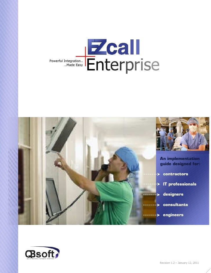 EZcall implementation_guide