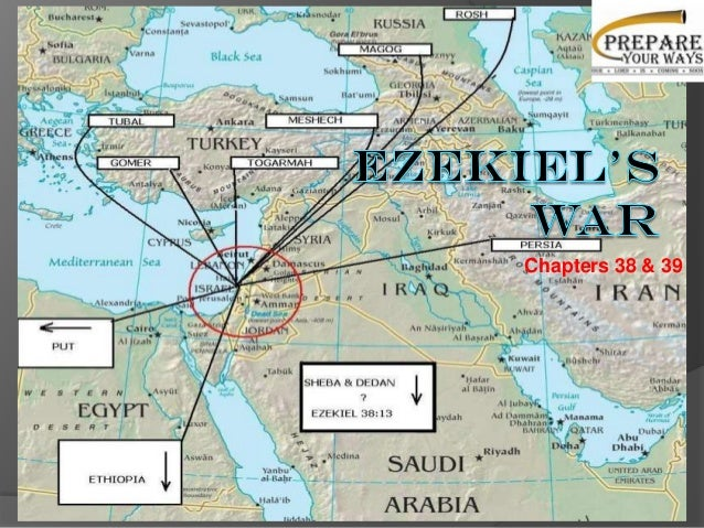 Ezekiel's war - A countdown to the current affairs in Middle East - Chapter 38 & 39