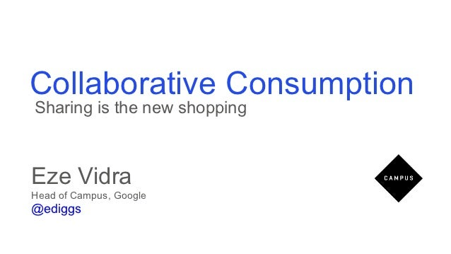 Eze vidra - Collaborative Consumption