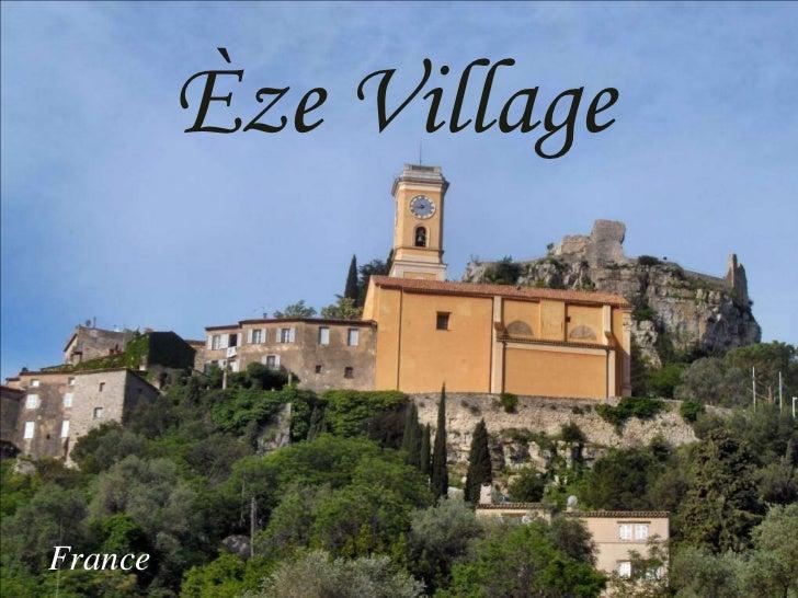 Eze Village (France)