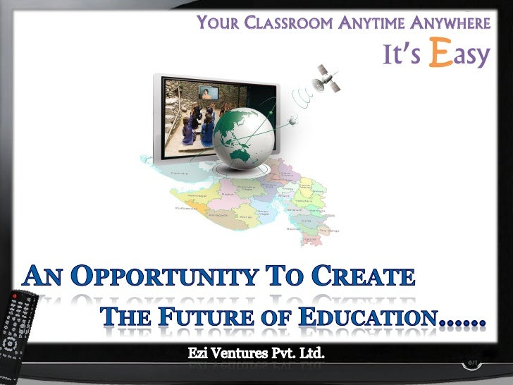 YOUR CLASSROOM ANYTIME ANYWHERE                      t's Easy