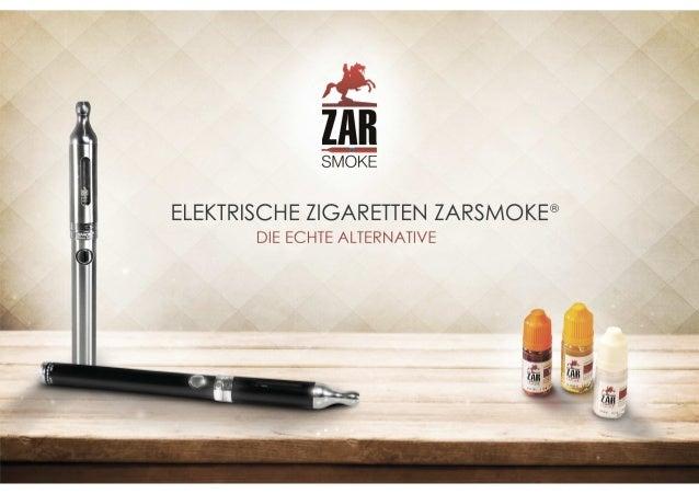 E-Zigarette Großhandel: ZARsmoke® - Die Echte Alternative - Thekenaufsteller