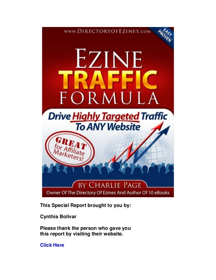 Ezine traffic formula rebranded