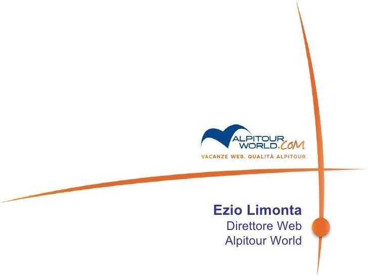 Ezio Limonta Direttore Web Alpitour World