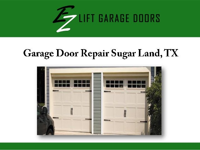 garage door repair sugar land tx