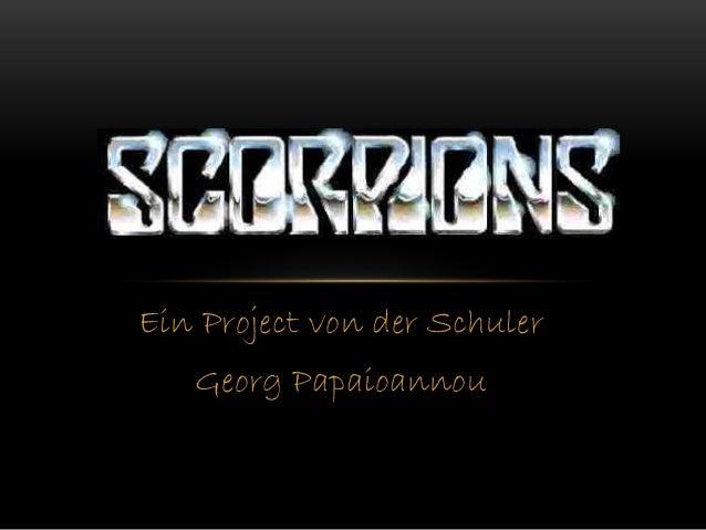Ein Project von der Schuler Georg Papaioannou