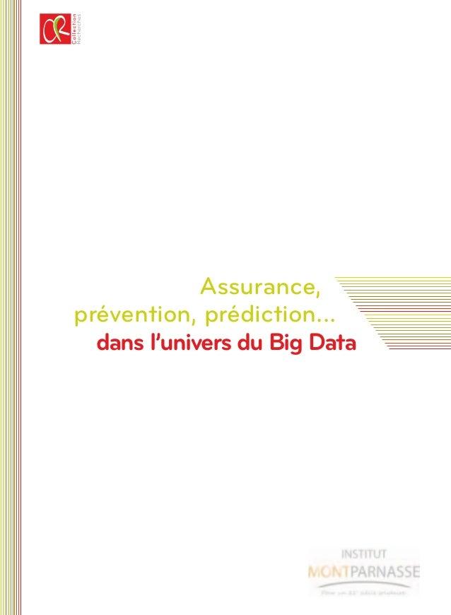 Assurance, prévention, prédiction... dans l'univers du Big Data