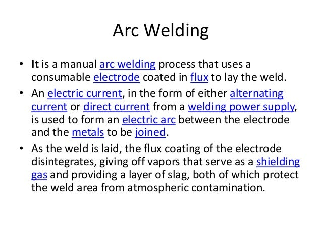 supply chain of a welding arc New paper – pulsed gas metal arc welding of copper-nickel pipe joints  ohio  shale energy 2012: discovering supply chain opportunities.
