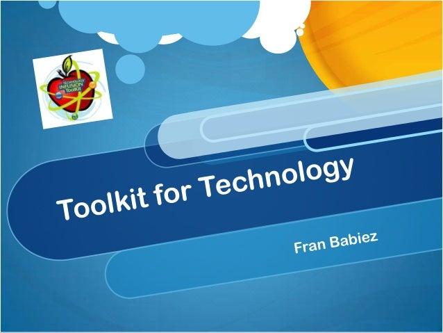 F. babiez toolkit