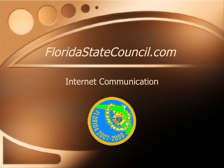 FloridaStateCouncil.com Internet Communication