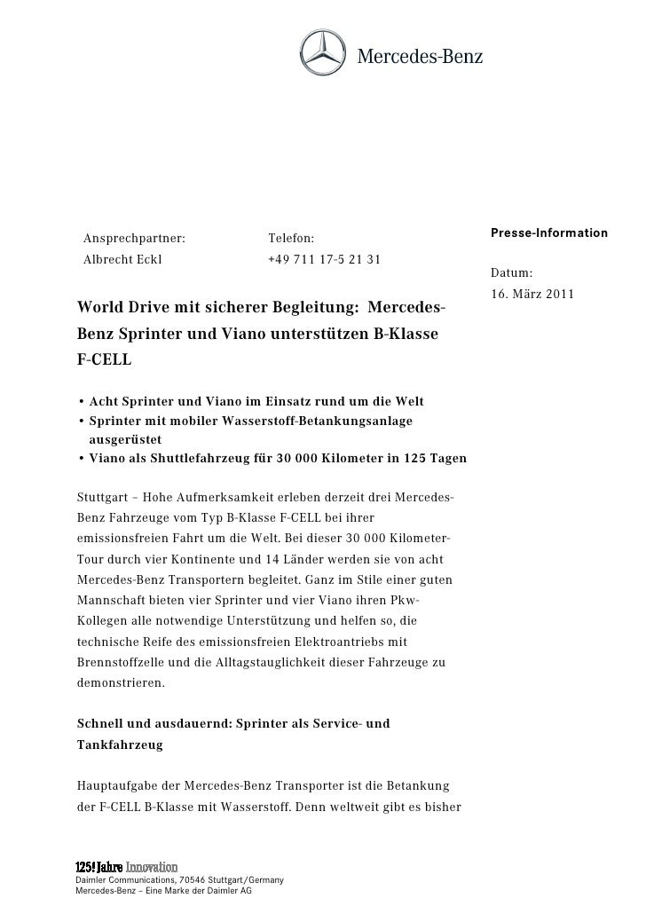 Ansprechpartner:                          Telefon:                 Presse-Information Albrecht Eckl                       ...
