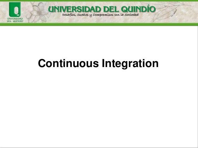 Continuous Integration Introduction